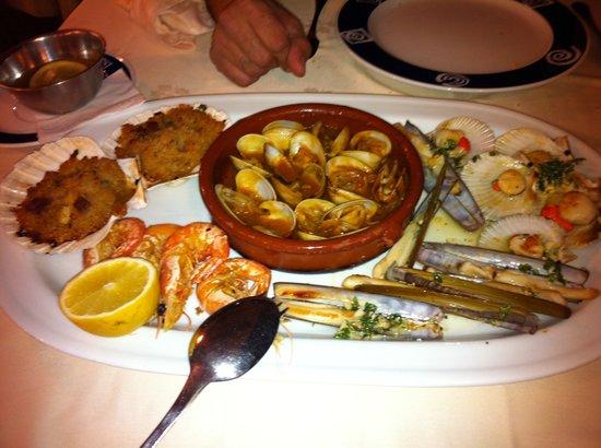 Baiona, Spanje: Mariscada: parte 2