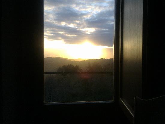 L'Ulivo Parlante: L'alba ... dalla camera da letto