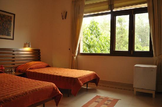 Jorbagh BnB: Airy sunlit bedrooms
