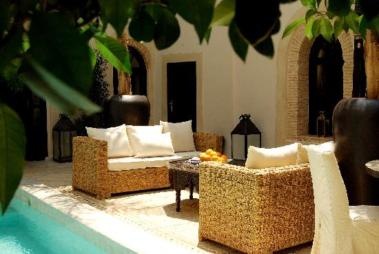 Riad Kheirredine: patio