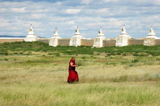 Kharakhorum Museum: Monk
