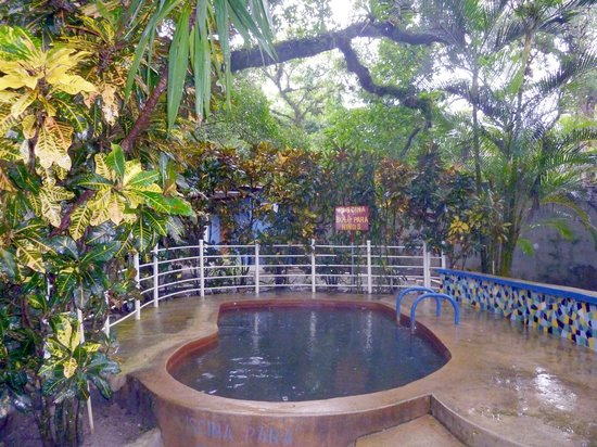 El Valle de Anton, Panama: One of the baths