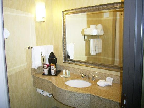 Comfort Suites Near Northeast Mall: Sink