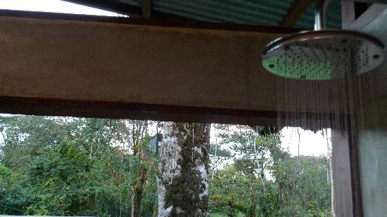Finca Maresia: open-window shower