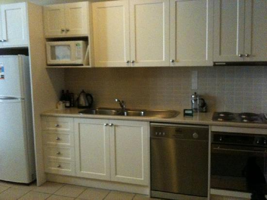 Quest Launceston: Kitchen in 1 bedroom apartment