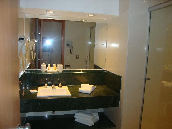 Arena Copacabana Hotel: Foto del baño