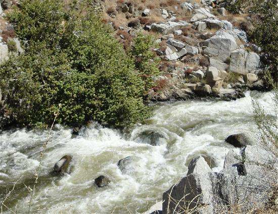 Kernville, Californie : Kern River White Water