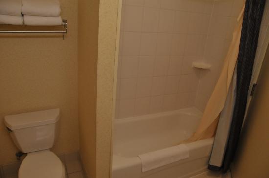 Fairfield Inn & Suites Austin Northwest/The Domain Area: Shower