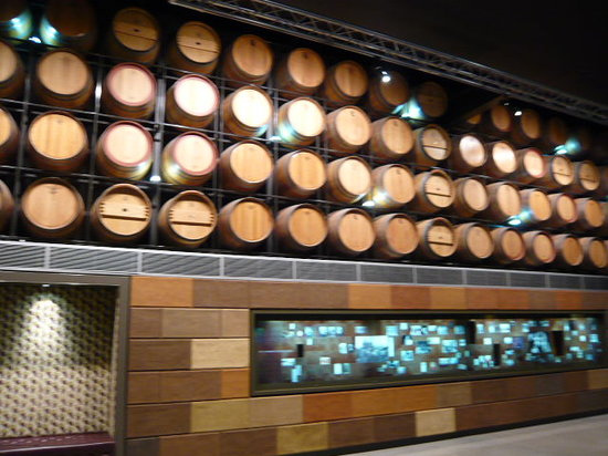 National Wine Centre of Australia: wine barrel