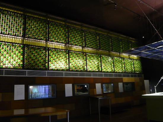 National Wine Centre of Australia: wine bottle