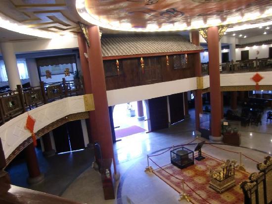 กุ้ยหลิน ซันชายน์ ไดนาสตี้ โฮเต็ล: Lobby view from upper floor