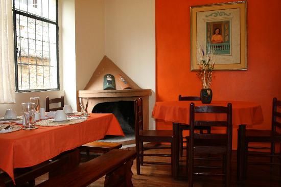 Posada Tambuca: Dinner Room