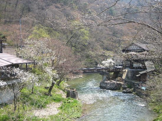 Osawa Onsen Sansuikaku: 大沢温泉の景色