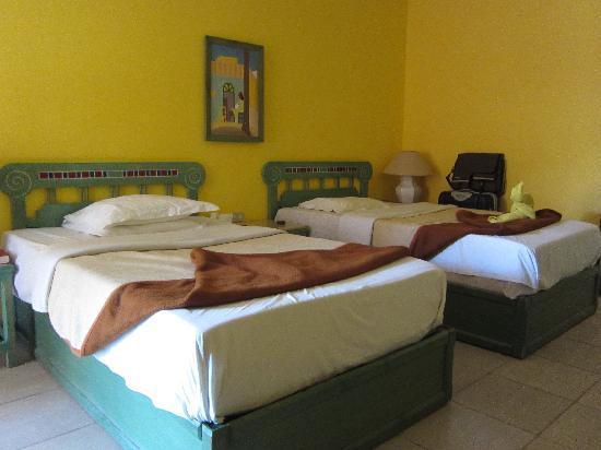 Giftun Azur Resort : Vårt rum i T-blocket