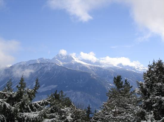 Crans-Montana, Suisse : View from Bluche