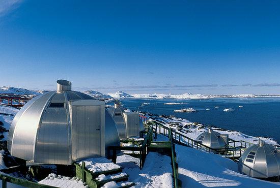 Cafe Ferdinand : Hotel Arctic Ilulissat Greenland, Igloos