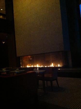 Twenty Eight: fireplace