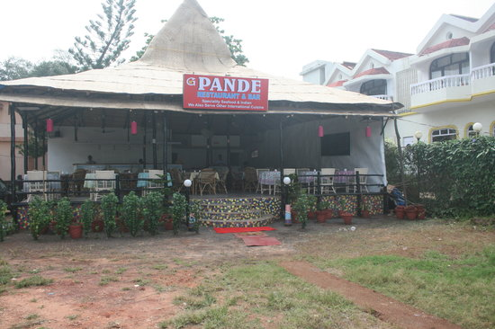 Palolem, Inde :                   Front look of the Restaurant