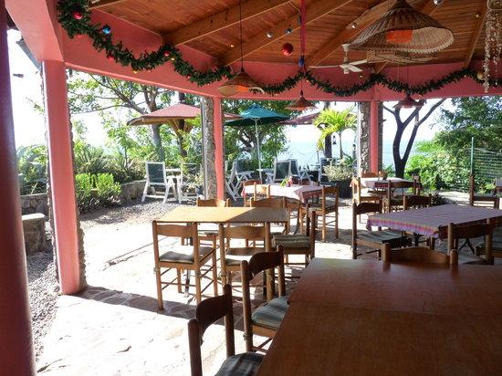 The Tamarind Tree Restaurant: Das offene Restaurant