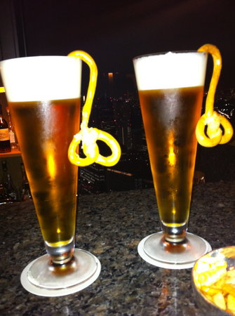 The Peak Bar: draft German style beer