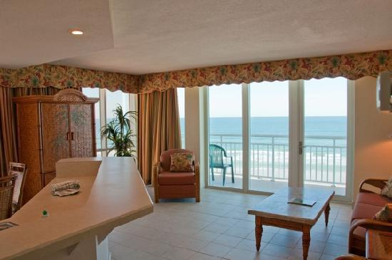Royal Floridian Resort: oceanfront unit