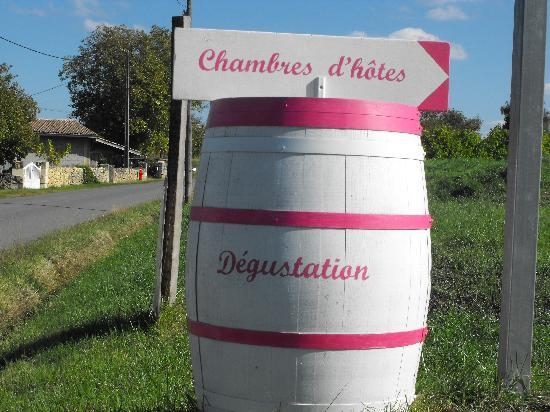 Chateau de Crecy : Barrique rose