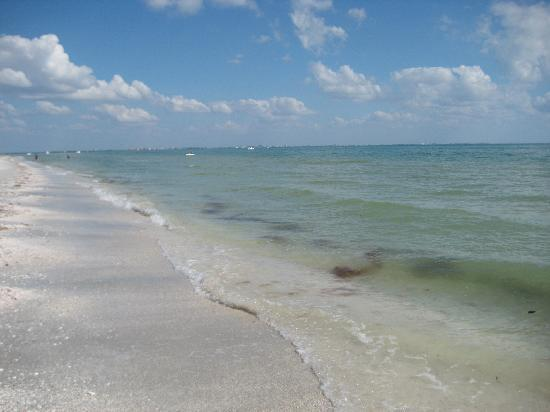 Sanibel Arms Condominiums: The beach - practically out our front door!