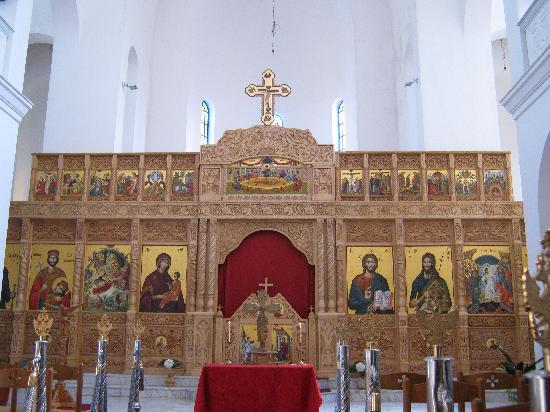 Shkoder, Albanie : シュコダルの教会内部