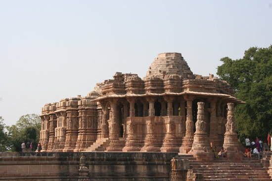 Modhera, Indien: The Sun Temple