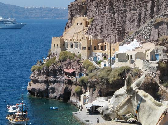 Santorin, Griechenland: Fira