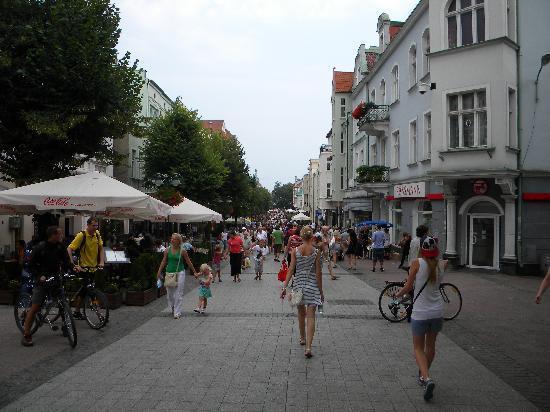 Gdansk, Polen: Promenade