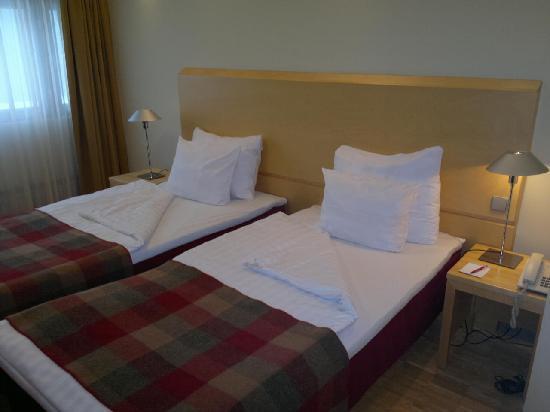 Original Sokos Hotel Pasila: The Beds