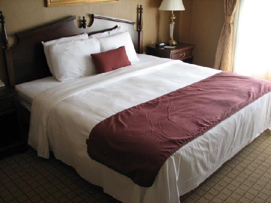New bedding and carpet at the Inn on Broadway