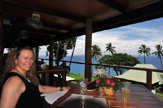 Nakia Resort & Dive: View from Veranda