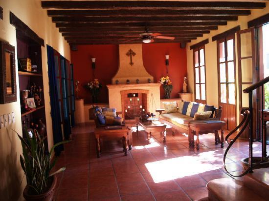 Casa de Leyendas: Relax in the sitting area