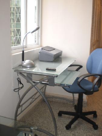 Central Tower: Computer Work Station High Speed DSL
