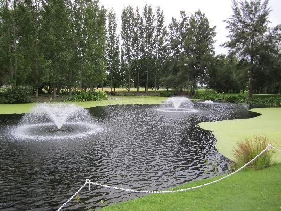 Windsor, Australien: Pond Fountains