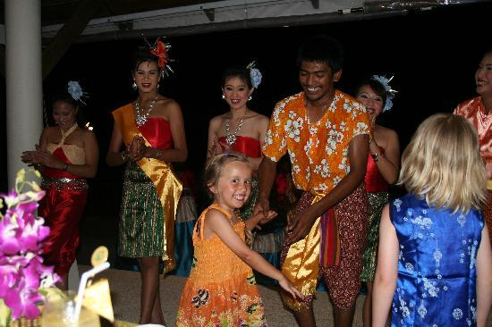 Andaman Princess Resort & Spa: Dance performance at our private party