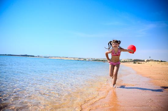 Cyrene Sharm Resort : Empty beach