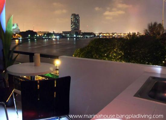 Marina House Bangplad: View from Balcony