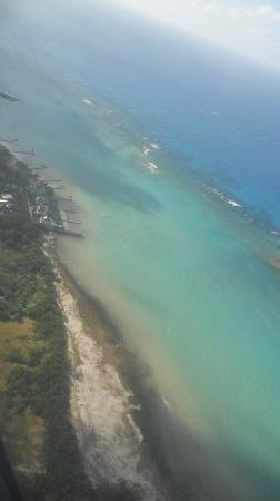 Jewel Dunn's River Beach Resort & Spa, Ocho Rios,Curio Collection by Hilton: The view from the plane