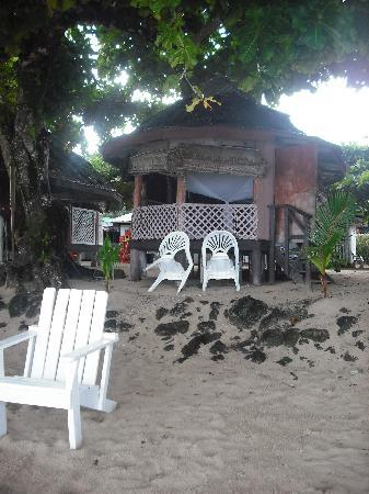 Vacations Beach Fales: fale on the beach