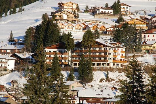 Hotel Catinaccio Rosengarten : Vista Hotel