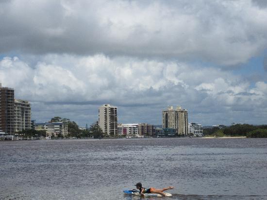 Maroochydore, Avustralya: Maroochy River Estuary (swimming)