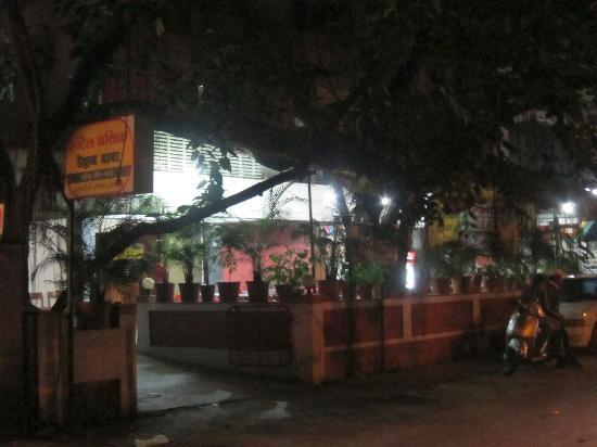 Pathik Hotel: 01 - Street view