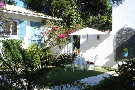 Pousada Casa Búzios: Internal patio