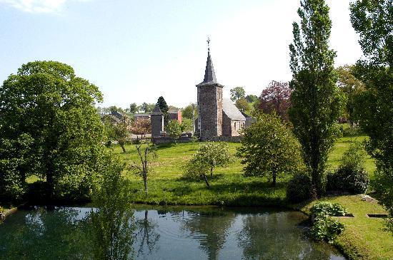 Limburg Province, Belgium: View on Sint-Pieters-Voeren
