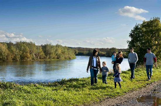 Limburg Province, Belgium: Walking along the Meuse River - Maasland
