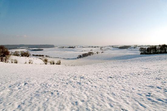 Limburg Province, Belgium: Winter in the Voerstreek