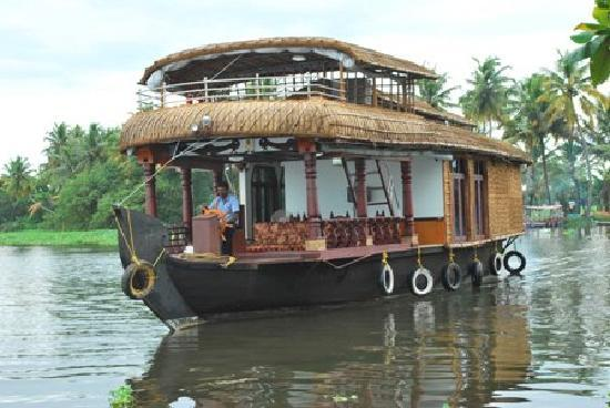 Alappuzha, อินเดีย: Single Bedroom Houseboat